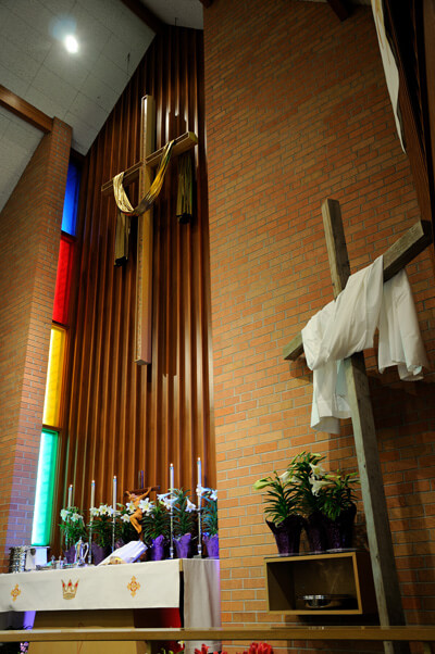 Zion Lutheran Church - Easter Altar