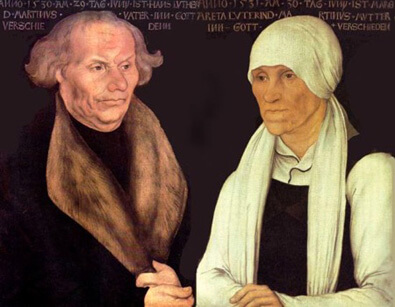 Martin Luther's parents, Hans & Margarethe Luther
